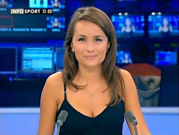 Le présentateur TV